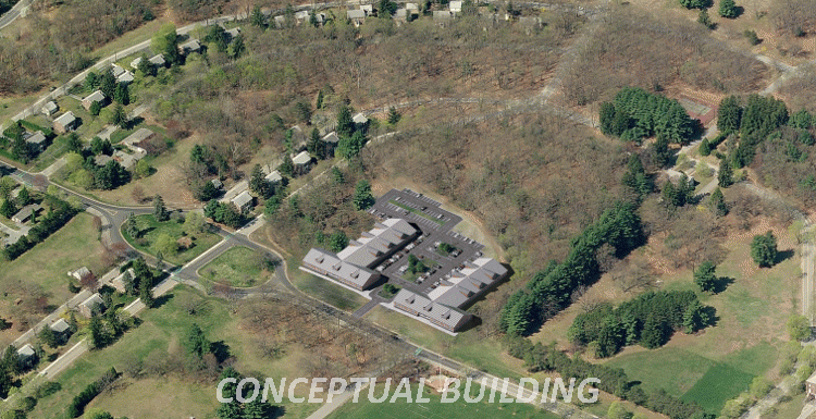 Conceptual building on 93/101 Sherman Avenue, Devens site