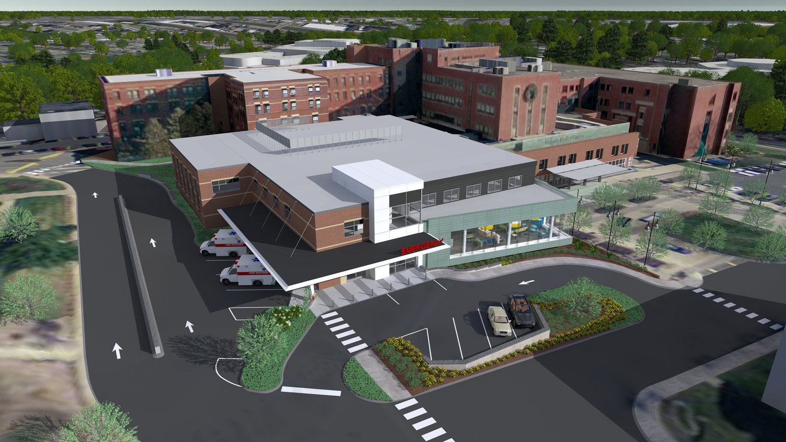 Holyoke Medical Center Builds Emergency Department Clinical Space