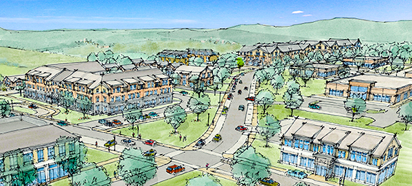 Rendering of Carriage Grove, Belchertown
