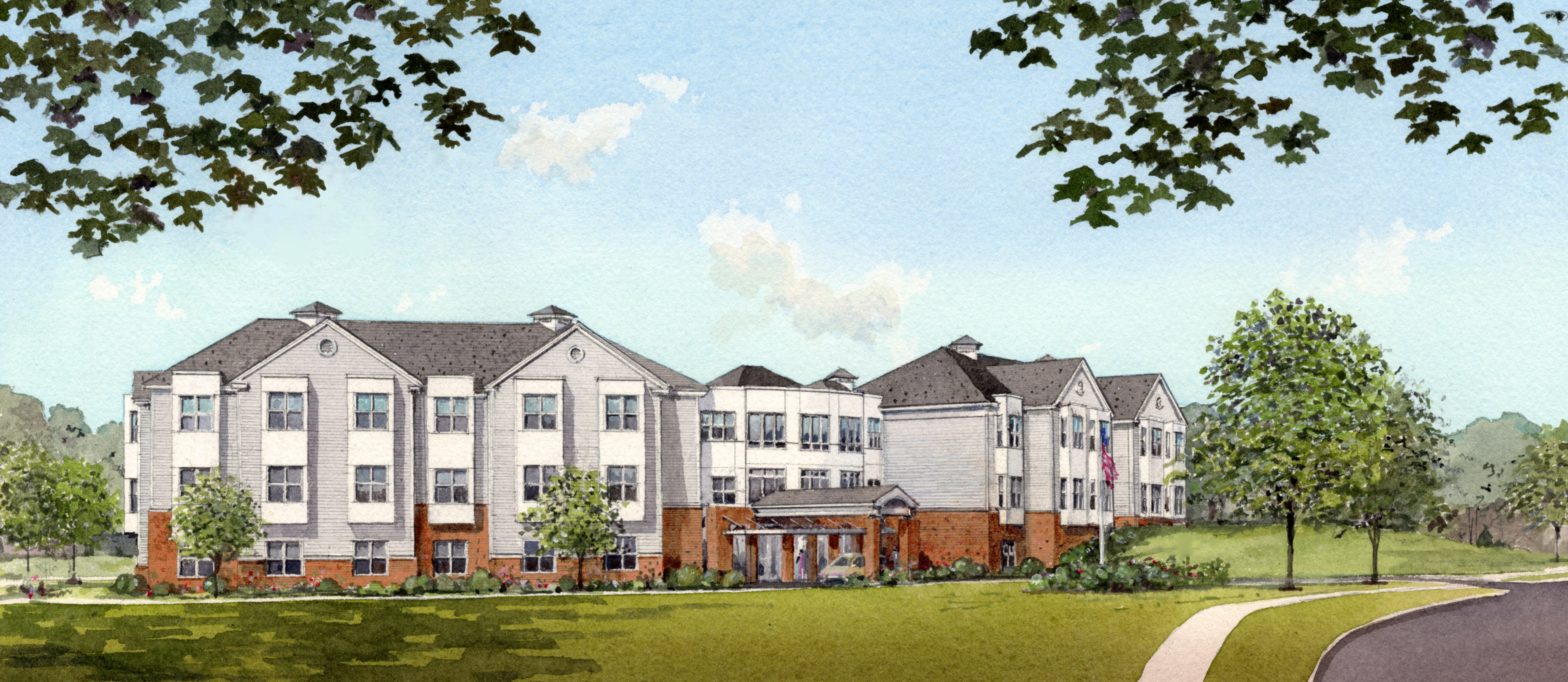 Berkshire retirement home to build nursing facility with for Berkshire house