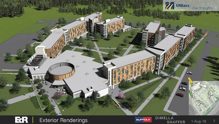 UMass Dartmouth Builds 1,210-Bed Residence Hall With ...